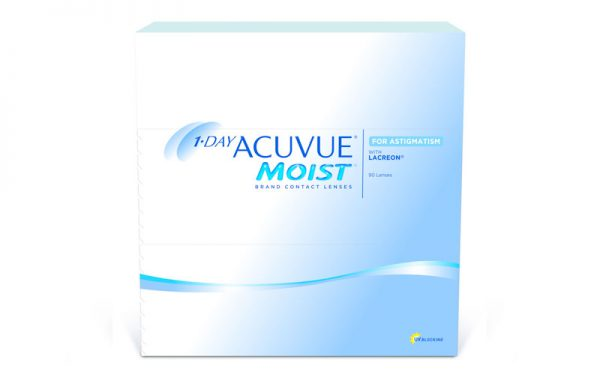 1-Day Acuvue Moist Toric